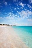 Playa de la bahía de la tolerancia en la madrugada Foto de archivo libre de regalías
