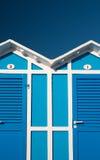 Playa de la cabina Fotografía de archivo libre de regalías