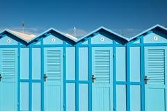 Playa de la cabina Fotografía de archivo