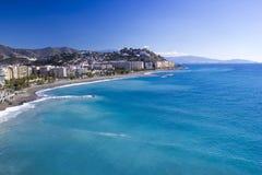 Almunecar, Andalusia, Spain. Playa De La Caletilla, Almunecar, Andalusia, Spain Stock Images