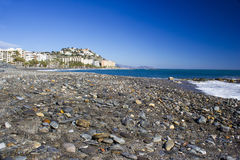 Playa De La Caletilla, Almunecar Royalty Free Stock Photo