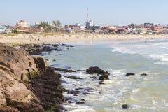 Playa de la caloría en Torres en un día soleado fotos de archivo libres de regalías