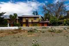 Playa de la casa Fotos de archivo