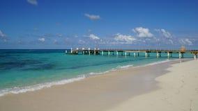 Playa de la ciudad de Cockburn en Turk Island magnífico fotografía de archivo