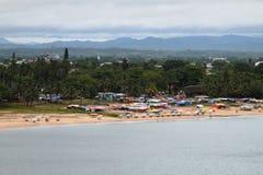 Playa de la ciudad, Toamasina, Madagascar Imagen de archivo