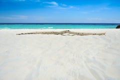 Playa de la conexión Foto de archivo libre de regalías