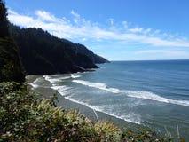 Playa de la costa de Oregon jpg Imagen de archivo libre de regalías