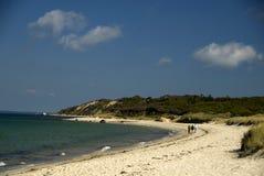 Playa de la ensenada de Lamberto imágenes de archivo libres de regalías