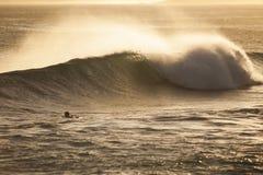 Playa de la espinilla, NZ Fotografía de archivo libre de regalías