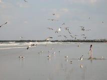 Playa de la Florida Fotos de archivo