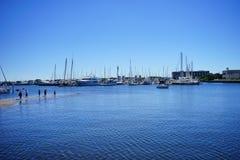 Playa de la Florida St Petersburg: muelle Foto de archivo libre de regalías