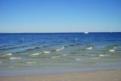 Playa de la Florida St Petersburg: onda Fotografía de archivo