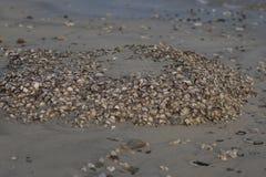 Playa de la grava fotografía de archivo