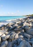 Playa de la isla卡塔利娜-加勒比热带海 免版税库存图片
