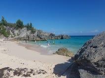 Playa de la isla Imagenes de archivo