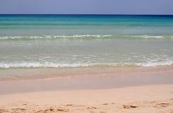 Playa de la isla de Fuerteventura Fotografía de archivo libre de regalías
