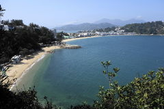 Playa de la isla de Hong-Kong Cheung Chau Fotografía de archivo