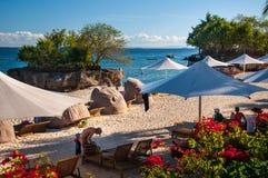 Playa de la isla de Mactan fotos de archivo libres de regalías