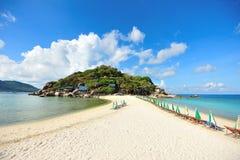 Playa de la isla de Nangyuan Imagen de archivo libre de regalías