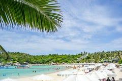 Playa de la isla de Racha imagen de archivo libre de regalías