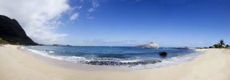 Playa de la isla del conejo Imágenes de archivo libres de regalías