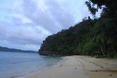 Playa de la isla de Panglao Foto de archivo libre de regalías