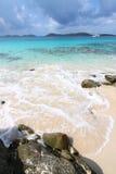 Playa de la luna de miel - San Juan imágenes de archivo libres de regalías