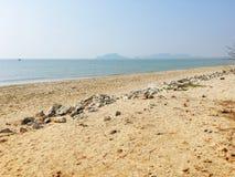 Playa de la mañana Foto de archivo