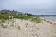 Playa de la mañana, bacalao de cabo Imágenes de archivo libres de regalías