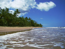 Playa de la misión Imágenes de archivo libres de regalías