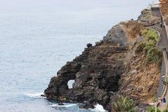 Playa de la montaña en Tenerife Fotos de archivo