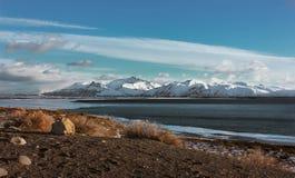 Playa de la Patagonia, la Argentina Fotografía de archivo libre de regalías