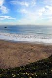 Playa de la paz Imagen de archivo libre de regalías