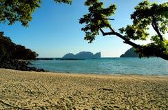 Playa de la phi de la phi fotografía de archivo libre de regalías
