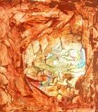 Playa de la pintura del arte Foto de archivo libre de regalías