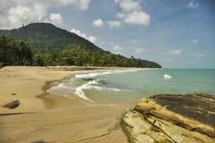 Playa 1 de la presa de Khao Plai Foto de archivo