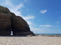 Playa de la roca Foto de archivo
