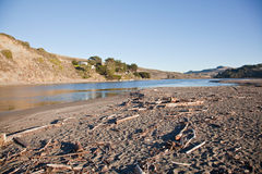 Playa de la roca de la cabra Fotografía de archivo libre de regalías