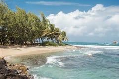 Playa de la Santa Lucía Fotografía de archivo libre de regalías