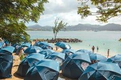 Playa de la Santa Lucía Imagen de archivo libre de regalías