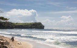 Playa de la sol Foto de archivo libre de regalías
