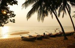 Playa de la tarde Foto de archivo