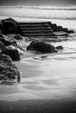Playa de la tarde en Irlanda fotografía de archivo libre de regalías