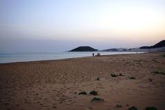 Playa de la tortuga de Rizo Karpas en Chipre septentrional Fotografía de archivo libre de regalías