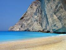 Playa de la turquesa Foto de archivo libre de regalías