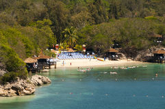 Playa de Labadee Haití Imagen de archivo