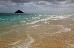 Playa de Lanikai fotos de archivo libres de regalías