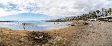 Playa de las美洲在特内里费岛 库存照片