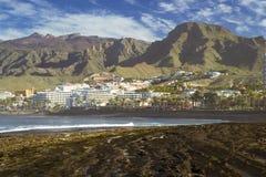 Playa de Las Αμερική, Tenerife, Κανάρια νησιά, Ισπανία Στοκ Φωτογραφίες