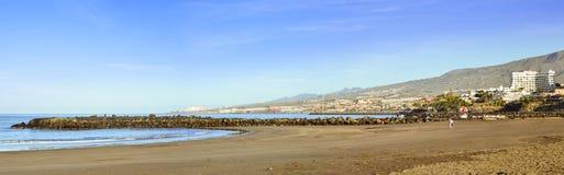 Playa de Las Αμερική, Tenerife, Κανάρια νησιά, Ισπανία Στοκ φωτογραφία με δικαίωμα ελεύθερης χρήσης